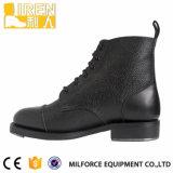 Black Good Wear Botas de calçado militares do Boot do exército de couro genuíno