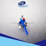 セリウムのFDA 13485 ISOのDamon Q様式の歯科矯正学の自己縛るブラケット