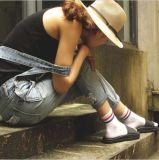 Тип Кореи дышает носком платья хлопка