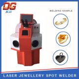 100W高性能の外部宝石類のレーザ溶接機械点の溶接工