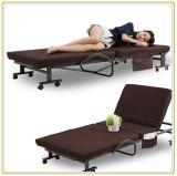 Het vouwbare Bed van de Therapie van het Lichaam met Regelbare Rugleuning en Wielen