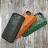 Accesorios del teléfono móvil del tirón de la carpeta del cuero genuino