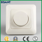 Interruptor de pared eléctrico Dimmer para LEDs regulables