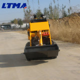 Chargeur chinois de boeuf du dérapage Lts280 de machines de construction neuve petit