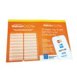 Impressão de folheto personalizado do folheto de instruções do Walmart Pay Instruction