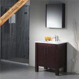 連邦機関1166の純木の高品質の中国の浴室のキャビネットの陶磁器の浴室の虚栄心