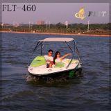 Barca di velocità dei 4 passeggeri con la parte superiore di Bimini