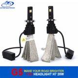 アルミニウムハウジングとのFanless脱熱器Osram LEDのヘッドライトの球根H7 H11 9005 9006