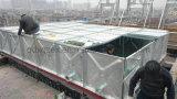 Les frais généraux de la tour d'acier Hot-Dipped réservoir d'eau