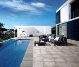 luz quente da venda 600*600mmm - telha rústica do cimento cinzento para o hotel