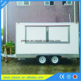 Yieson Fabricant Fast Food Trucks Mobile Food Trailer avec Ce