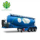 3 ESSIEUX Shengrun pétrolier de ciment en vrac semi-remorque