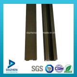 6063 [ت5] مصنع خداع أثر سكّة حديديّة ألومنيوم ألومنيوم قطاع جانبيّ مع تأكسد