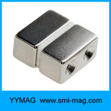 N52ブロックの形の持ち上がることのための最も強く平らなネオジムの磁石
