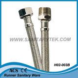 Tuyau flexible en câbles en acier inoxydable tressés pour les mélangeurs (H02-001)