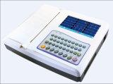 Zoll-Farben-Bildschirm ECG Sun-8121 des Digital-zwölf Kanal-ECG Machine/7