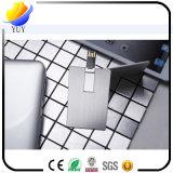 Kundenspezifisches Drucken-MetallKreditkarte USB-Blitz-Laufwerk-förderndes Geschenk