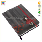 Impresión de cuero de encargo barata del cuaderno