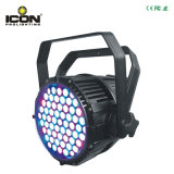 54*3W RGBW 옥외 LED 동위 빛 64는 방수 처리할 수 있다