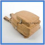 Populärer neuer materieller Pont-Papierrucksack-Beutel, Förderung leichter Tyvek doppelter Schulter-Papierbeutel mit justierbarem Riemen