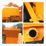 Mobiler hydraulischer Schlussteil-Betonpumpe mit Trommel-Mischer (JBT40-P)