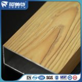 Windowsのドアのためのセリウムの工場粉のコーティングの木製の穀物のアルミニウムプロフィール