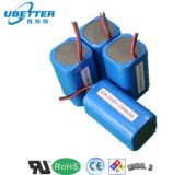 pack batterie rechargeable de lithium de 7.4V 5200mAh pour la batterie d'instruments de mètre