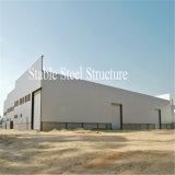 Atelier préfabriqué de structure métallique de mur de parapet
