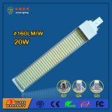 20W SMD 2835 LED Lámparas Horizontal