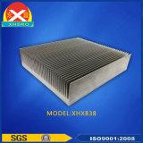 La lega di alluminio 6063 si è sporta dissipatore di calore per il convertitore di frequenza