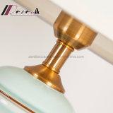 Chinesische Art-Keramik-Karosserien-Licht-elfenbeinfarbene Tisch-Lampe für Wohnzimmer