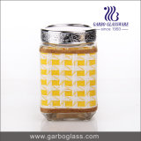 Contenitore alto Lidded del &Food della bottiglia di vetro (GB2101LX-1)