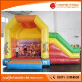 Castillo animoso inflable de la diapositiva combinado para el juguete de los cabritos (T3-020)