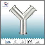 Accessorio per tubi dell'acciaio inossidabile: Y-Tipo T uguale saldato (3A-No. NM032126)