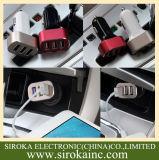 Chargeur tout neuf de véhicule des ports USB de l'universel 3 de vente en gros de 100%