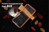 Новая ультра тонкая покрашенная прозрачная водоустойчивая крышка предохранения для iPhone