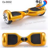 """""""trotinette"""" dourado do balanço do auto, Es-B002 Hoverboard elétrico"""
