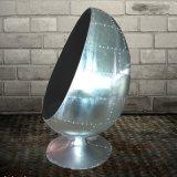 Estilo Industrial Cadeira de Ovo Spitfire Alumínio