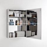 Aço inoxidável Armário Espelho sem caixilho de banho personalizados armário de casa de banho de cortesia