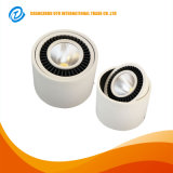 天井を停止する鋳造アルミ4.5のインチ15Wの穂軸LED Downlightを埋め込みなさい