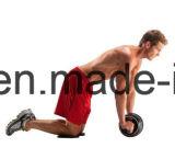 [أب] تمرين بدنيّ عجلة بكرة آلة [كرفر] دائرة [بودي وورك] خارجا تمرين عمليّ مناصر