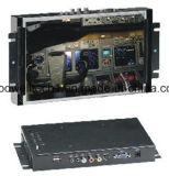"""10.2の"""" 16:9 LCDの金属フレームの接触モニタ"""