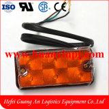 高品質のTailiftのフォークリフトLEDの前部回転ランプは12-24Vをつける