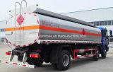 Auman 3 차축 8 바퀴 연료 수송 트럭 20000 L 연료 탱크 트럭