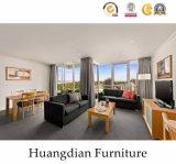 최신 판매 Foshan 가구 제조자 나무로 되는 호텔 침실 가구 (HD418)