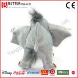 En71 고품질 연약한 코끼리 견면 벨벳 박제 동물 장난감