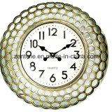Reloj grande de Hunging de la pared del metal del diseño de la manera para la decoración casera en precio de fábrica