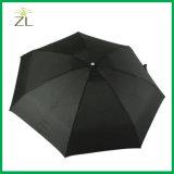 سوداء ترويجيّ ذكيّة 5 يطوي مظلّة فائقة مصغّرة مع ألومنيوم إطار
