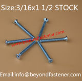DIN7985 los tornillos de tornillo de casquete