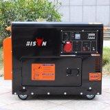 バイソン(中国) BS6500dse 5kw 5kVA 5000Wのディーゼル発電機の長期間の時間携帯用ディーゼル発電機